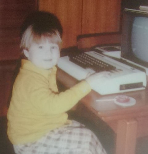 Me and my VIC-20.