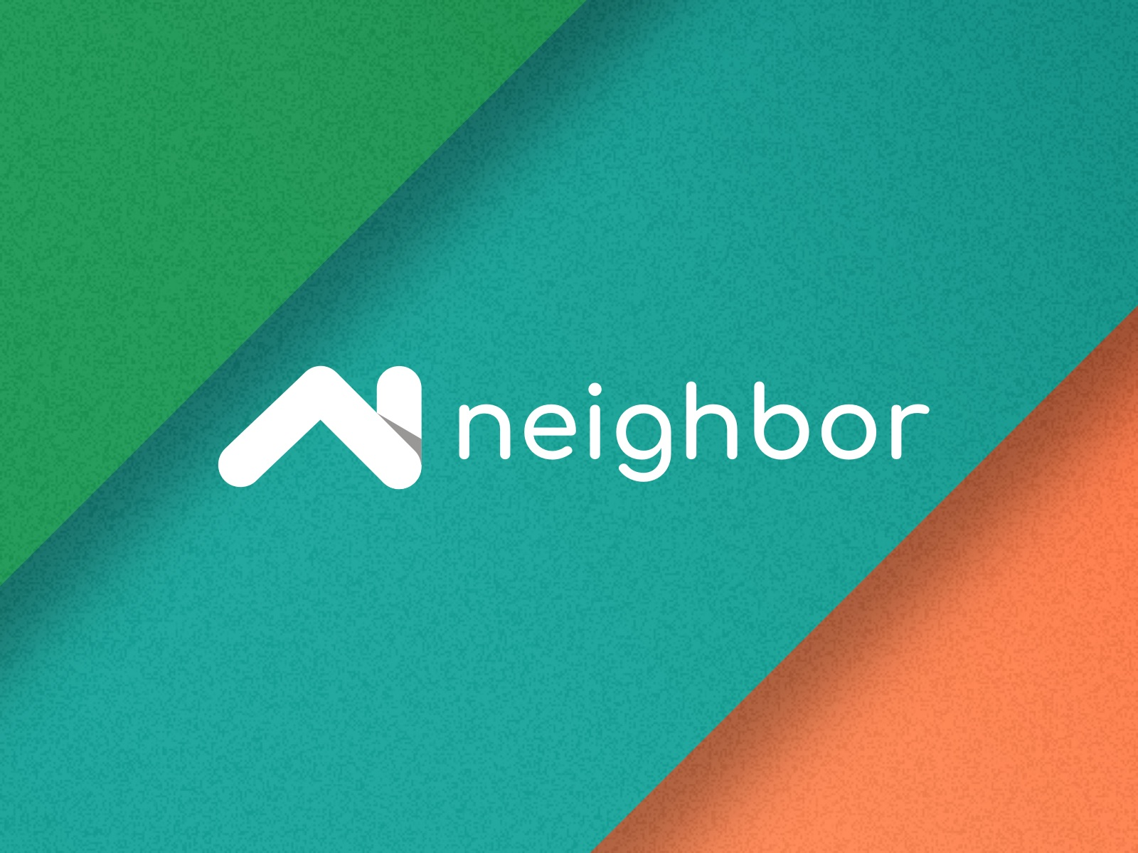 Neighbor Billing logo and brand colors as stripes.