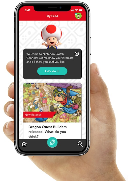Switch Connect screenshot on an iPhone.