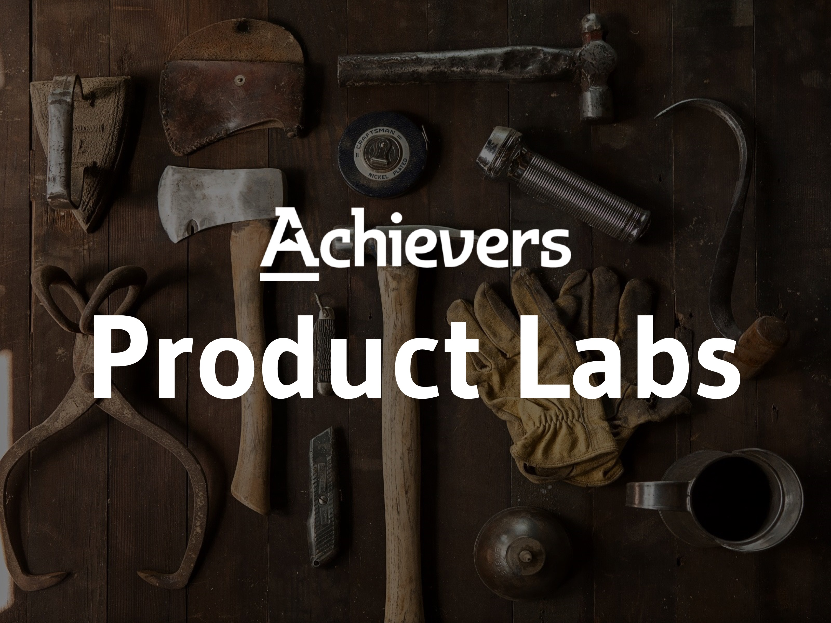 Achievers Product Labs page