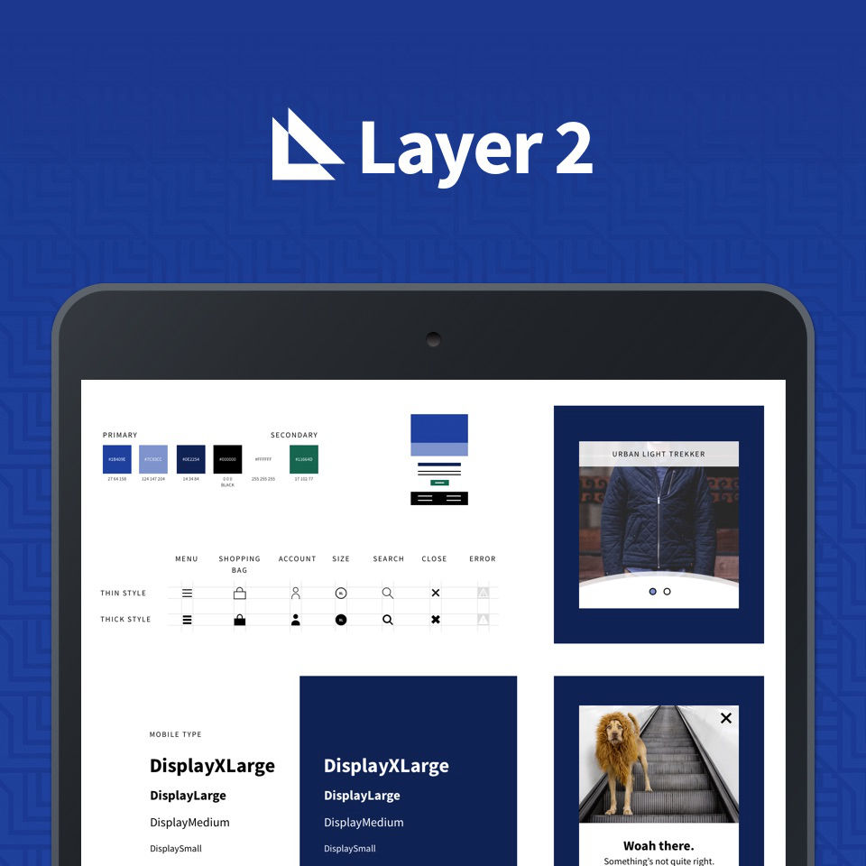 Layer 2 logo and branding screenshot.