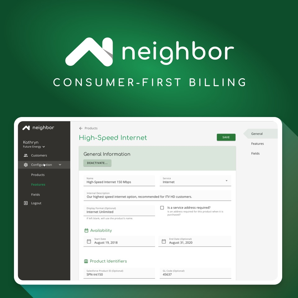 Neighbor: Consumer-First Billing
